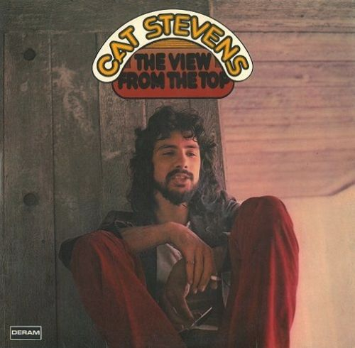 CAT STEVENS The View The Top Vinyl Record LP German Deram 1972